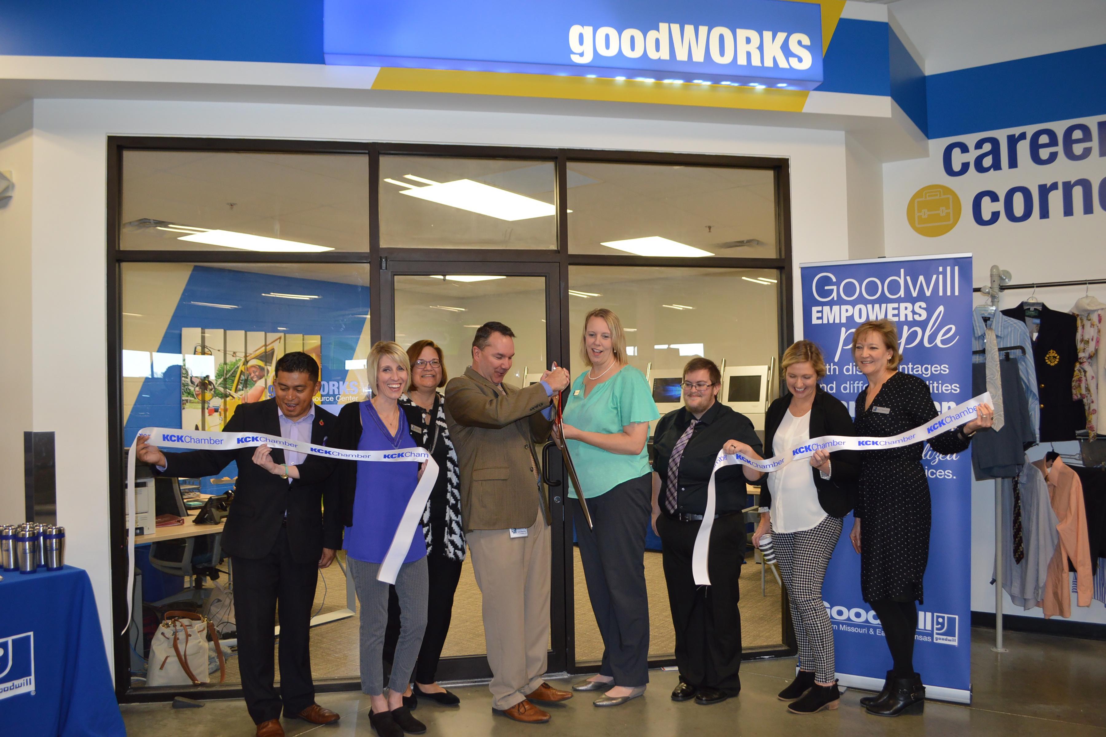 Opening of Bonner Springs GoodWORKS Center